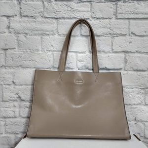 Banana Republic | Soft Grey Leather Shoulder Bag